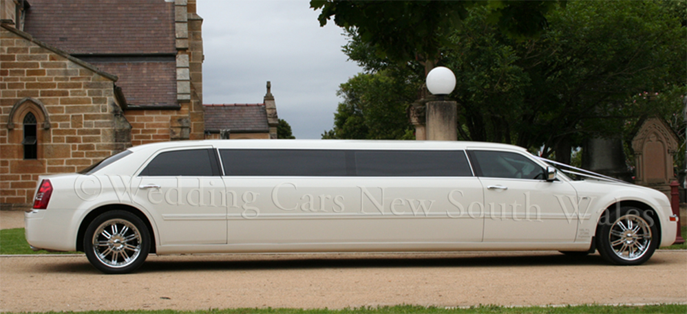 chrysler wedding limousine hire sydney